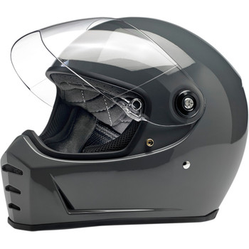 Biltwell Lane Splitter Helmet - Gloss Storm Grey