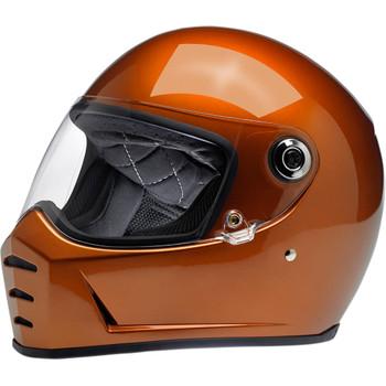 Biltwell Lane Splitter Helmet - Gloss Copper