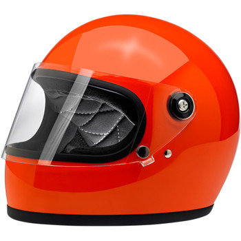 Biltwell Gringo S ECE Helmet - Gloss Hazard Orange