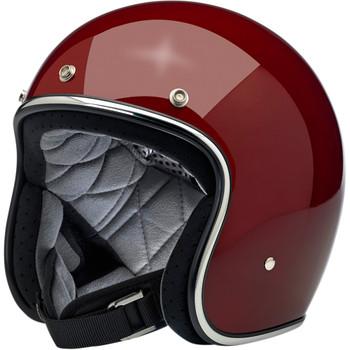 Biltwell Bonanza Helmet - Gloss Garnet Red
