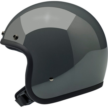 Biltwell Bonanza Helmet - Gloss Storm Grey
