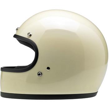Biltwell Gringo ECE Helmet - Gloss Vintage White
