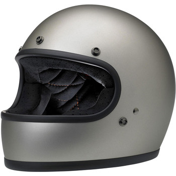 Biltwell Gringo ECE Helmet - Flat Titanium