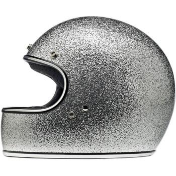 Biltwell Gringo ECE Helmet - Brite Silver Metal Flake