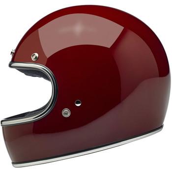 Biltwell Gringo ECE Helmet - Gloss Garnet Red