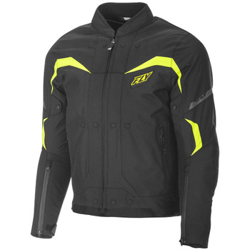 FLY Street Butane Jacket - Black/Hi Viz