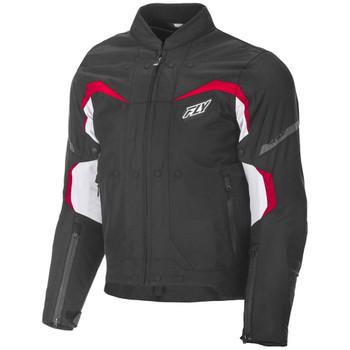 FLY Street Butane Jacket - Black/Red/White