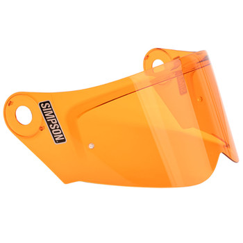 Simpson Mod Bandit Helmet Face Shield - Amber