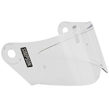Simpson Mod Bandit Helmet Face Shield - Clear