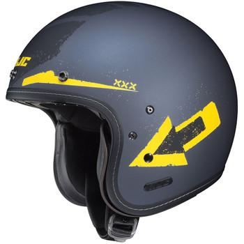 HJC IS-5 Helmet - Arrow Gray/Yellow
