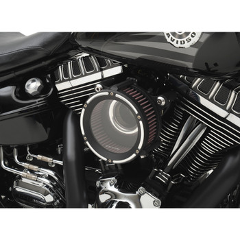 Trask Assault Charge High-Flow Air Cleaner for 2008-2017 Harley* - Reverse Cut