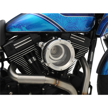 Trask Assault Charge High-Flow Air Cleaner for 1999-2017 Harley Twin Cam* - Raw Machined