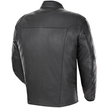 Joe Rocket Vintage Rocket Leather Jacket - Black/White