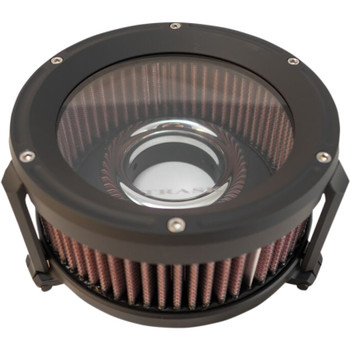 Trask Assault Charge High-Flow Air Cleaner for 2008-2017 Harley* - Black