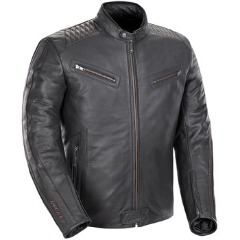 Joe Rocket Vintage Rocket Leather Jacket - Black