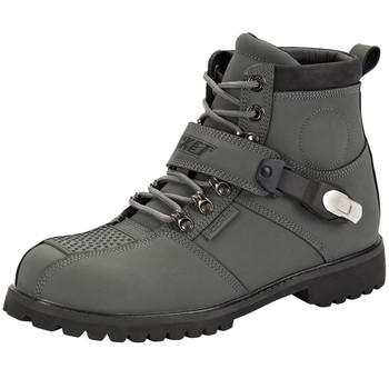 Joe Rocket Big Bang 2.0 Leather Boots - Grey
