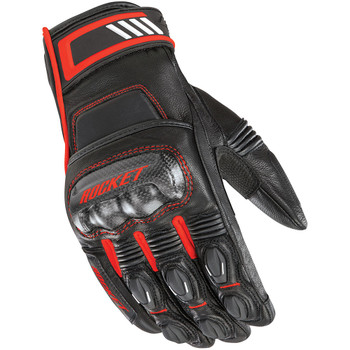 Joe Rocket Highside Gloves - Black/Red