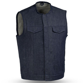 First Mfg. Haywood Vest - Blue