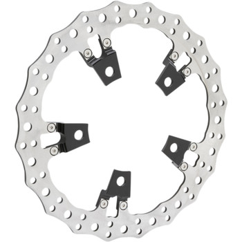 Arlen Ness Big Brake Jagged Floating Rotor Kit for 2014-2019 Harley Touring
