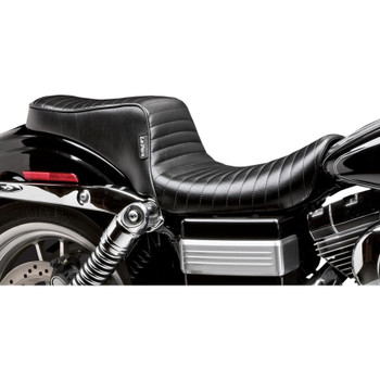 LePera Cherokee Seat for 2006-2017 Harley Dyna - Pleated
