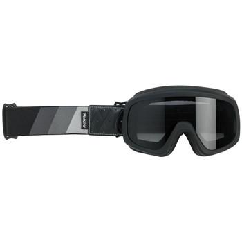 Biltwell Overland 2.0 Tri-Stripe Goggle - Silver/Gray/Black