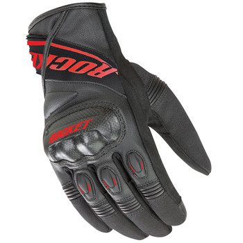 Joe Rocket V-Sport Gloves - Black/Red
