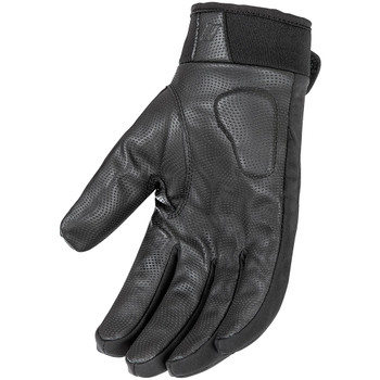 Z1R Men/'s 243 Perforated Leather Open-Back Motorcycle Gloves Choose Size Black