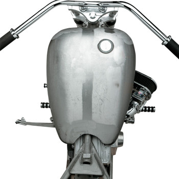 Drag Specialties One-Piece  Smooth-Top Style Extended Gas Tank for 1984-1999 Harley Softail - Screw-in Cap