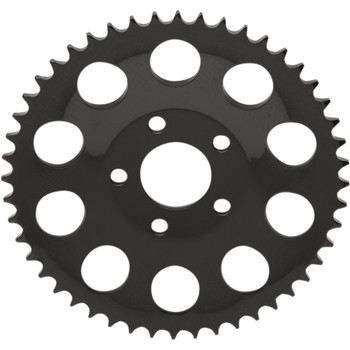 Drag Specialties Dished Chain Conversion Rear Sprocket for 1986-1999 Harley* - Gloss Black