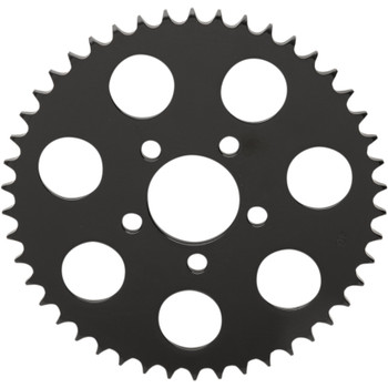 Drag Specialties Flat Chain Conversion Rear Sprocket for 2000-2018 Harley* - Gloss Black