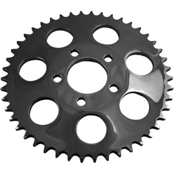 Drag Specialties Dished Chain Conversion Rear Sprocket for 2000-2018 Harley* - Gloss Black