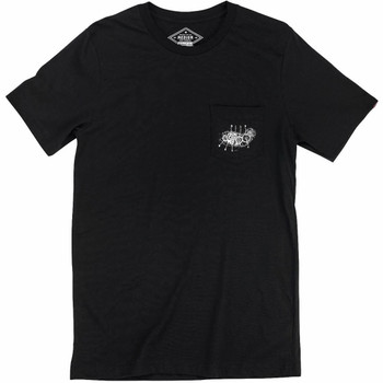 Biltwell 4 Cam Pocket T-Shirt - Black