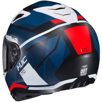HJC i70 Elim Helmet - Blue/Red/White