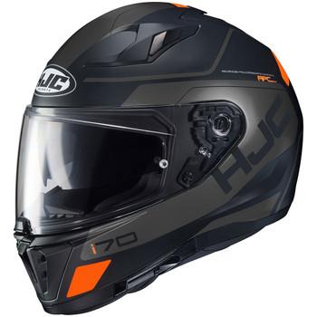 HJC i70 Karon Helmet - Black/Orange