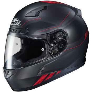HJC CL-17 Combat Helmet - Black/Red