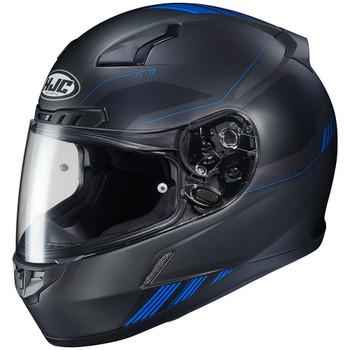 HJC CL-17 Combat Helmet - Black/Blue