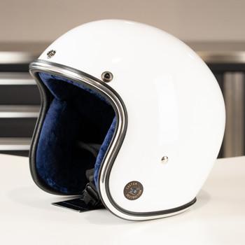 Custom Destruction 3/4 Novelty Helmet - Gloss White