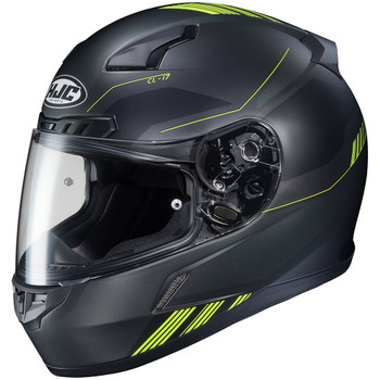 HJC CL-17 Combat Helmet - Black/Hi Viz