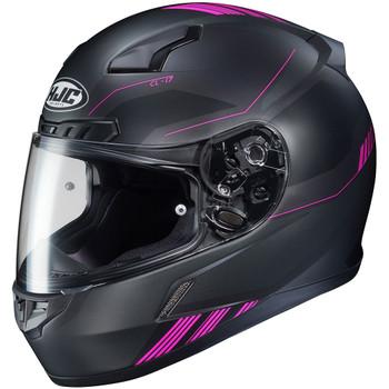 HJC CL-17 Combat Helmet - Black/Pink