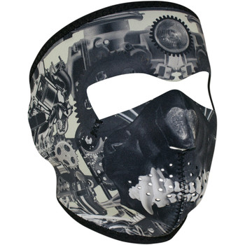 Zan Headgear Sprocket Skull Face Mask