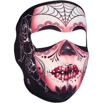 Zan Headgear Sugar Skull Full Face Mask