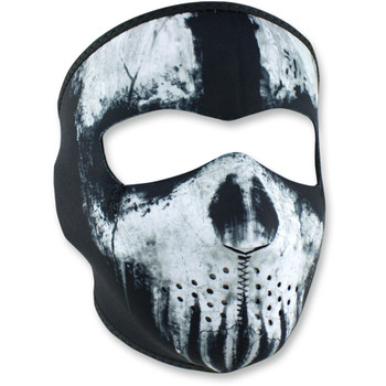 Zan Headgear Ghost Skull Full Face Mask