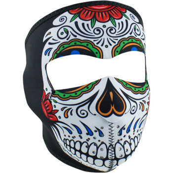Zan Headgear Muerte Skull Full Face Mask
