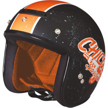 Z1R Jimmy Chico Helmet - Black/Orange