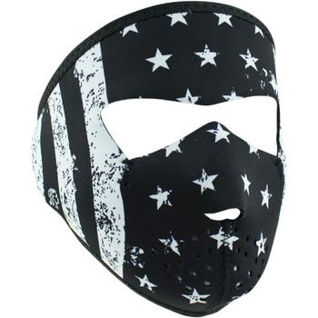 Zan Headgear Black/White Flag Small Face Mask