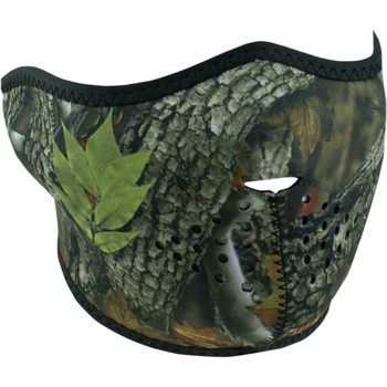 Zan Headgear Forest Camo Half Face Mask