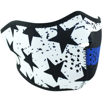 Zan Headgear Thin Blue Line Half Face Mask
