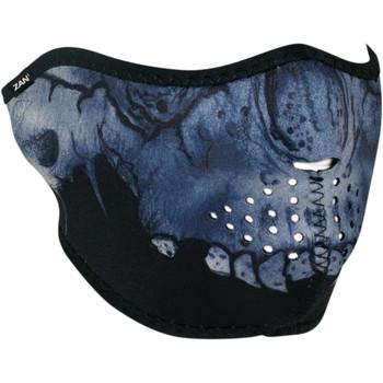Zan Headgear Midnight Skull Half Face Mask
