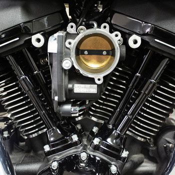 S&S Quickee Pushrod Kit with Covers for 2017-2019 Harley M8 - Gloss Black