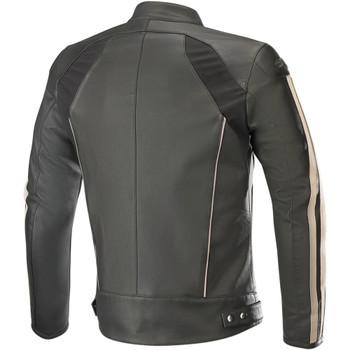 Alpinestars Dyno v2 Leather Jacket - Black